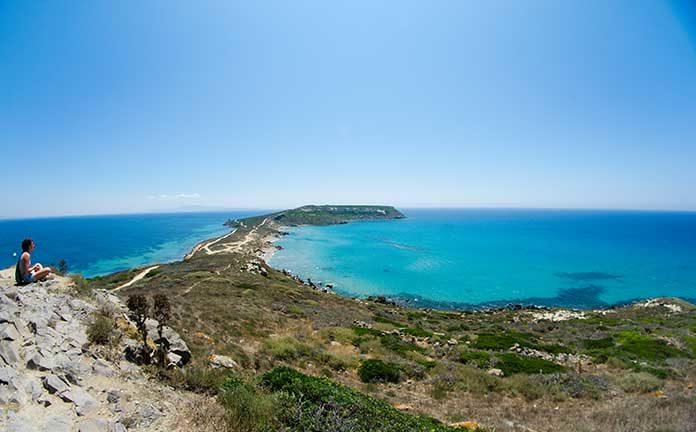 意大利撒丁岛海滩