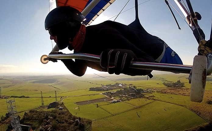 热爱滑翔伞旅行