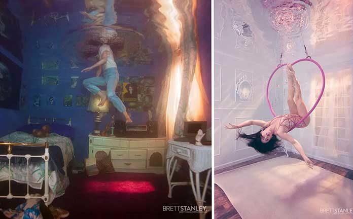 超现实水下摄影